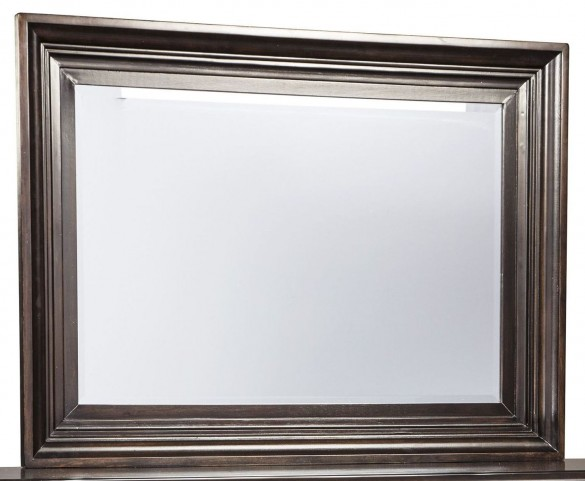 Willenburg Dark Brown Bedroom Mirror