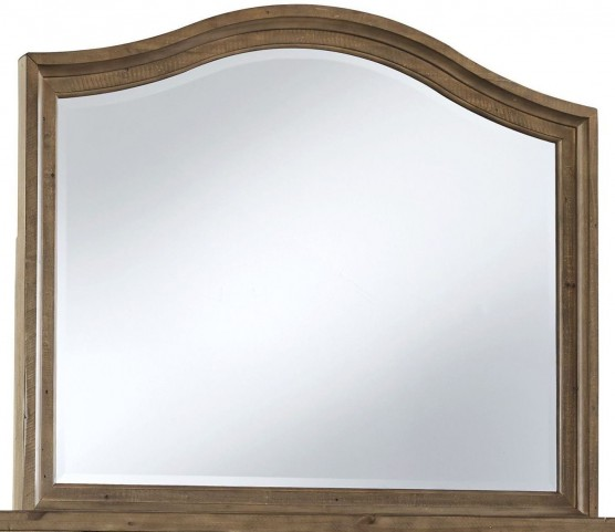 Trishley Light Brown Bedroom Mirror