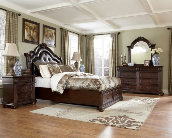 Caprivi Panel Storage Bedroom Set