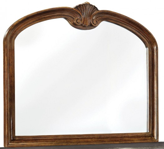 Balinder Medium Brown Bedroom Mirror