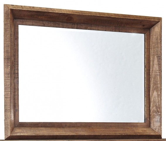 Tamilo Grayish Brown Bedroom Mirror