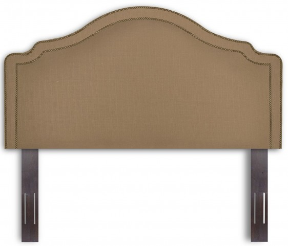 Versailles Walnut and Brown Sugar Full/Queen Headboard