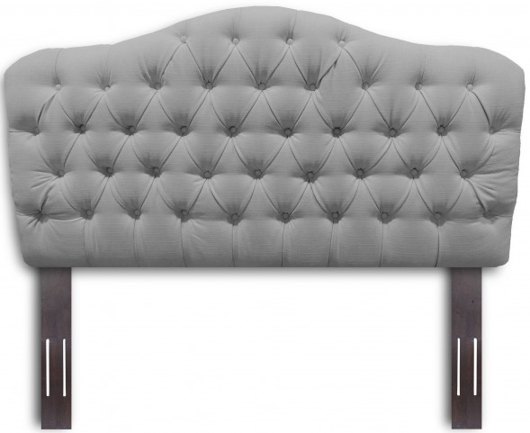 Martinique Walnut and Putty Full/Queen Headboard