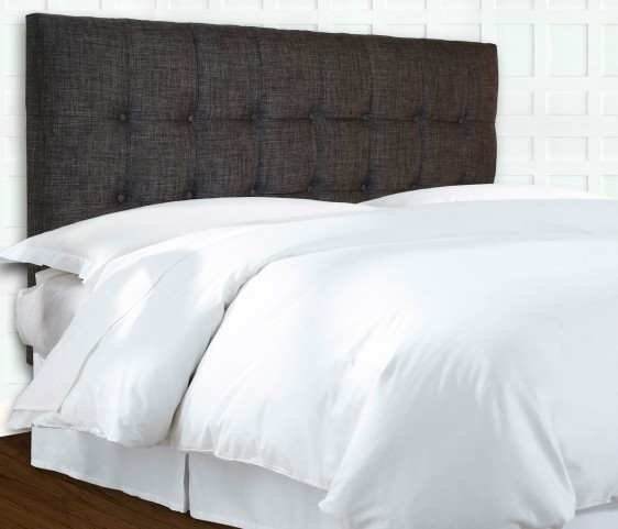 Pendleton Walnut and Grande Carbon Full/Queen Headboard