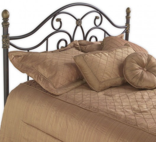 Dynasty Autumn Brown Full Headboard