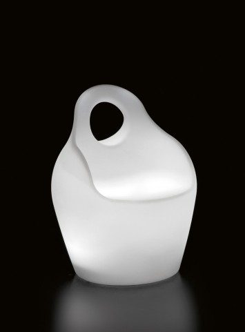 Baba Junior Translucent Lighted Outdoor Chair
