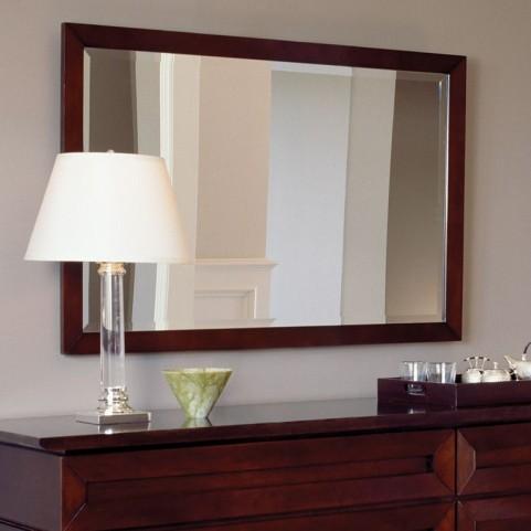 Bancroft Black Cherry Mirror