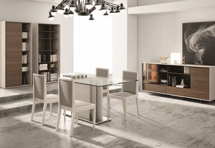 Composition 205 Extendable Rectangular Dining Room Set
