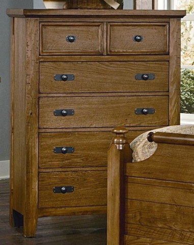 Timber Mill Oak 5 Drawer Chest