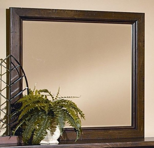 Timber Mill Pine Landscape Mirror