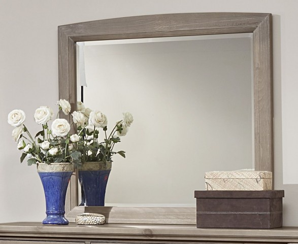 Transitions Driftwood Oak Landscape Mirror