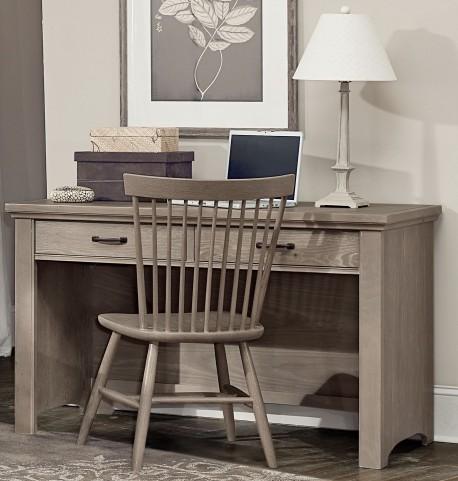 Transitions Driftwood Oak 2 Drawer Laptop Desk