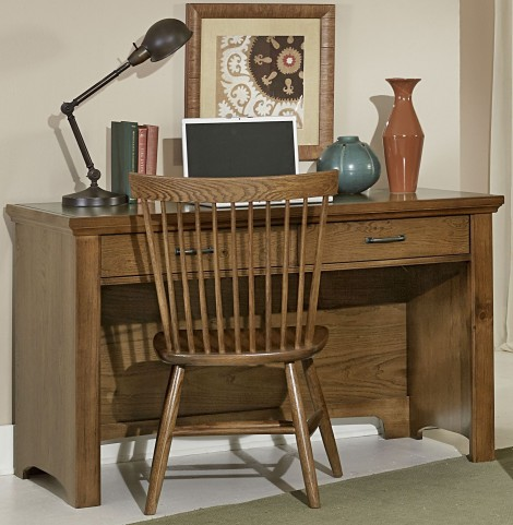 Transitions Dark Oak 2 Drawer Laptop Desk