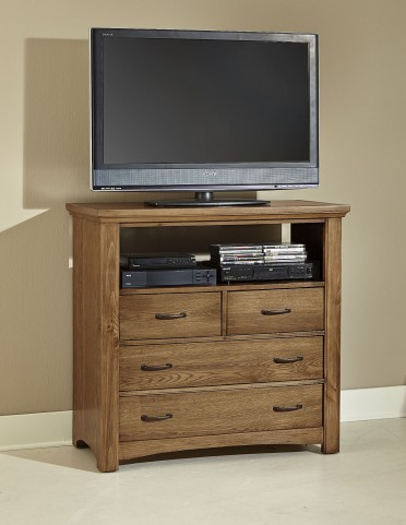 Transitions Dark Oak 4 Drawer Media Chest