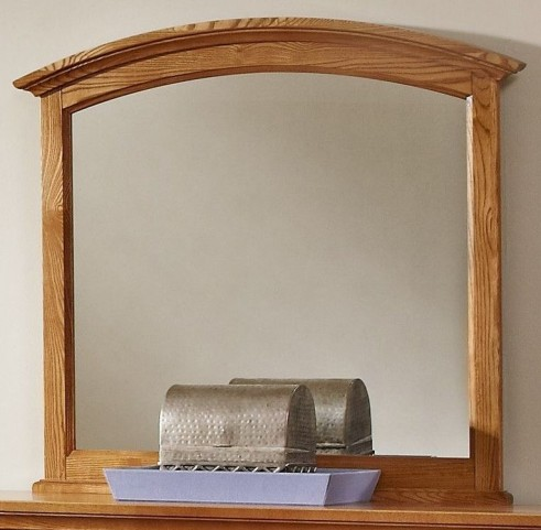 Forsyth Medium Oak Arched Mirror