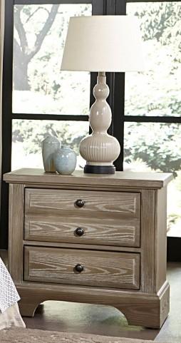 Bedford Washed Oak 2 Drawer Nightstand