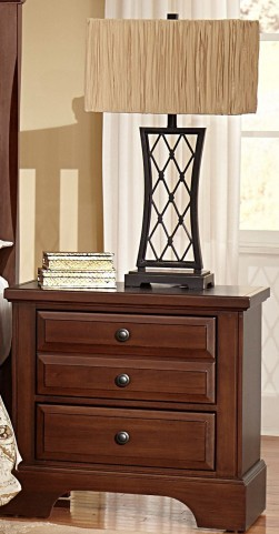 Bedford Cherry 2 Drawer Nightstand