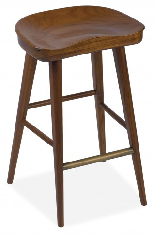 Balboa Hazelnut Bar Stool
