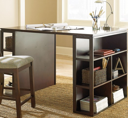 Bradford Dark Oak Desk