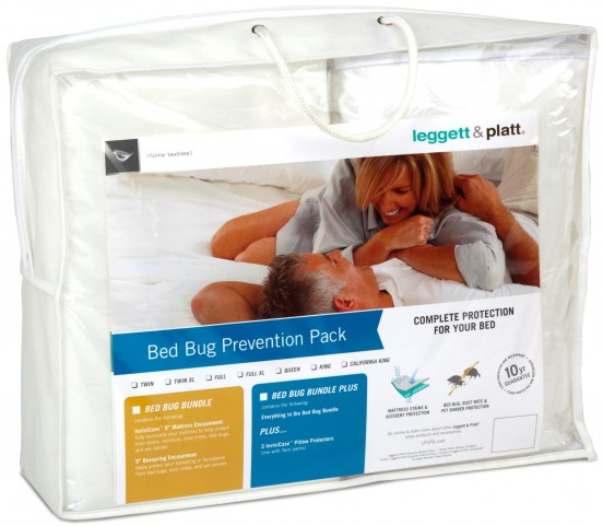 Bed Bug Prevention Pack Bundle Plus - 4 Pc Full Extra Large Size Mattress Protector