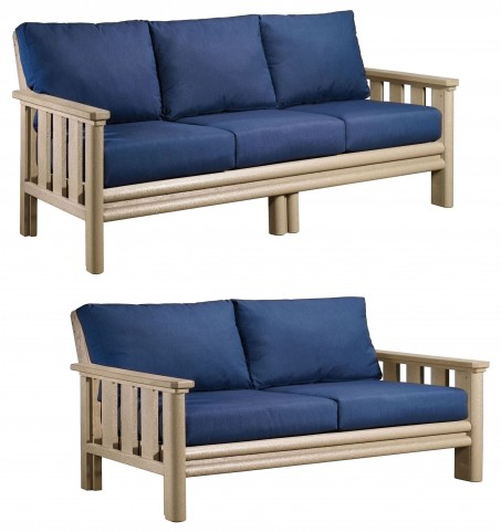 Stratford Beige Outdoor Living Set