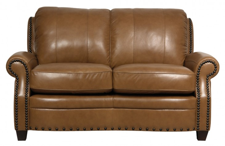 Bennett Italian Leather Loveseat
