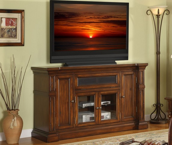 "Berkshire Old World Umber Super 60"" TV Console"