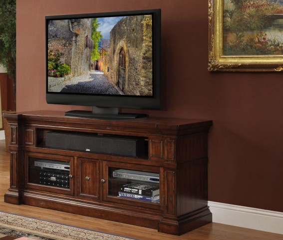 "Berkshire Old World Umber 62"" Media Console"