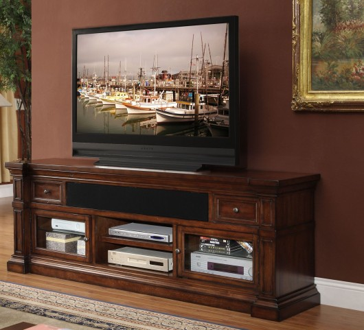 "Berkshire Old World Umber 76"" Media Console"