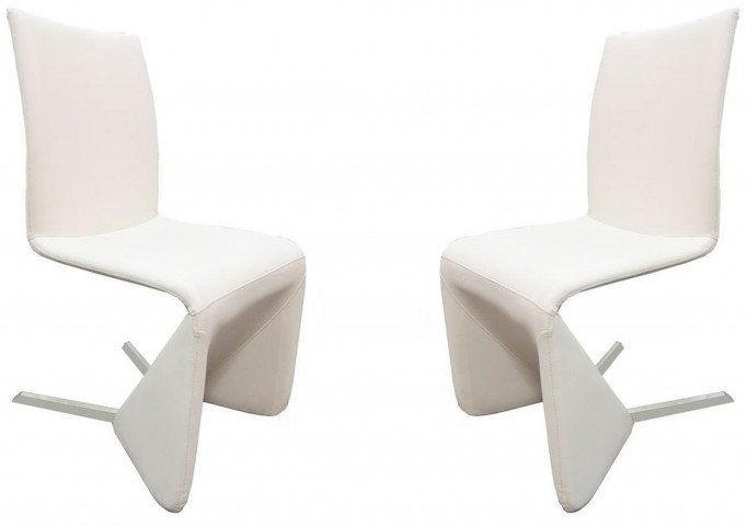 Bernice White Dining Chair Set of 2