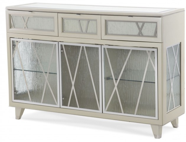 Beverly Boulevard Pearl Caviar Sideboard