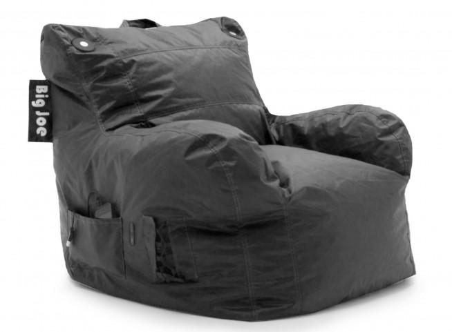 Big Joe Brio Stretch Limo Black SmartMax Bean Bag Chair