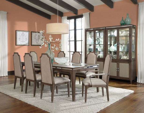 Biscayne West Haze Extendable Dining Room Set
