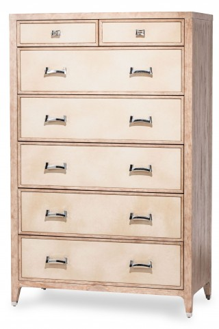 Biscayne West Sand 7 Drawer Chest