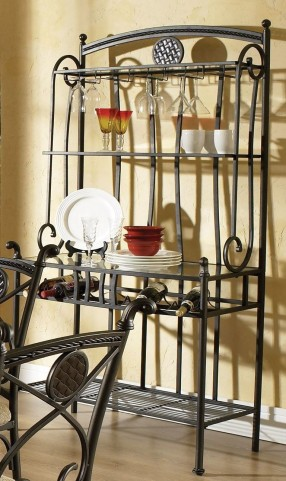 Brookfield Powder Coat Bakers Rack