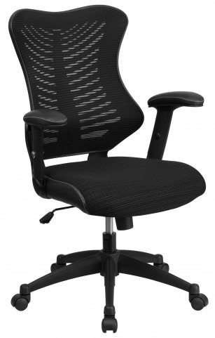 High Back Black Chair