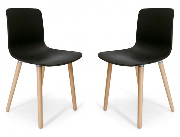 Euro Home Vana Natural Chair Set of 2