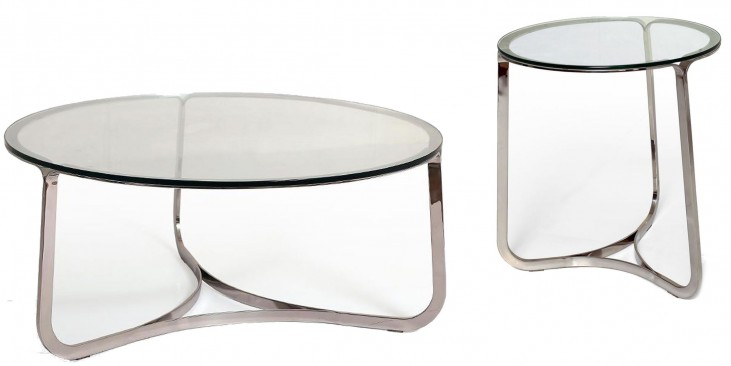 Blake Silver Occasional Table Set