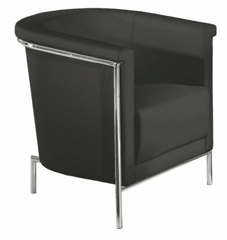 Blanca Black Accent Chair