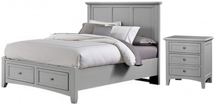Bonanza Gray Youth Mansion Storage Bedroom Set