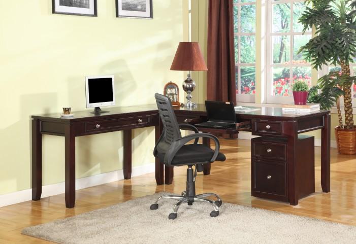 Boston L-Shape Home Office Set