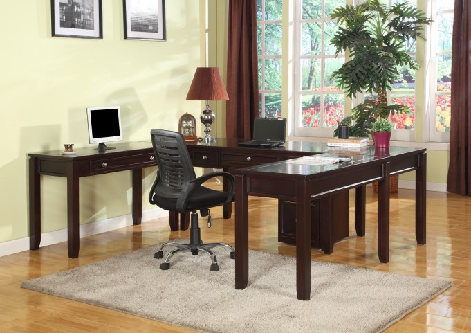 Boston U-Shape Home Office Set