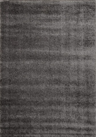 Boulevard Striped Brown Glitz Low Pile Shag Medium Rug