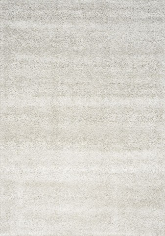 "Boulevard Light Grey Glitz Low Pile Shag 63"" Rug"