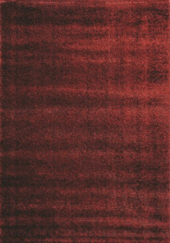 "Boulevard Striped Red Glitz Low Pile Shag 94"" Rug"