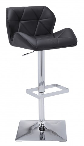 Boulton Black Retro Adjustable Barstool