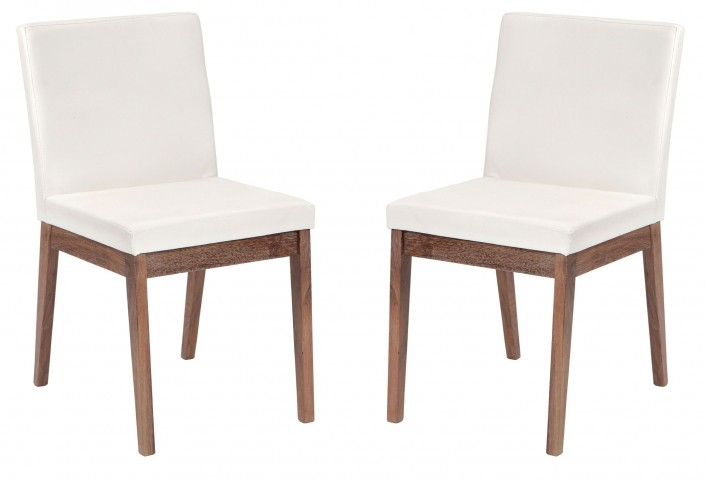 Branson White Dining Chair Set of 2