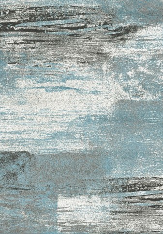 "Breeze Blue Blend 94"" Rug"