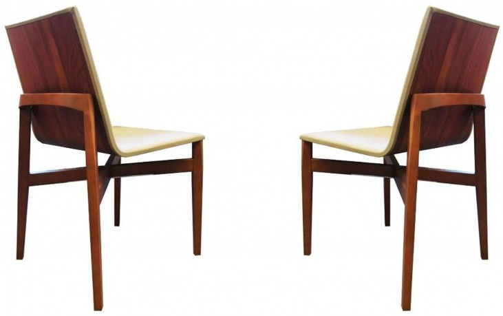 Brio Taupe Dining Chair Set of 2