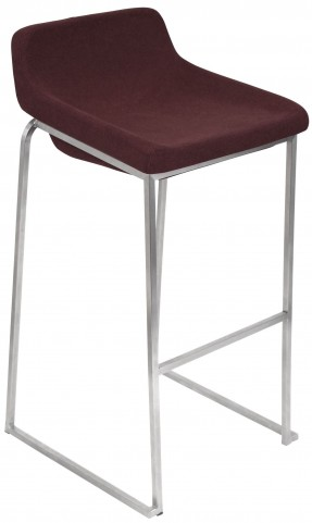 Drop In Burgundy Barstool